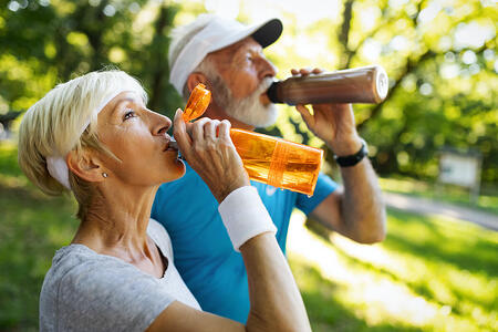 Aging and the Importance of Staying Hydrated
