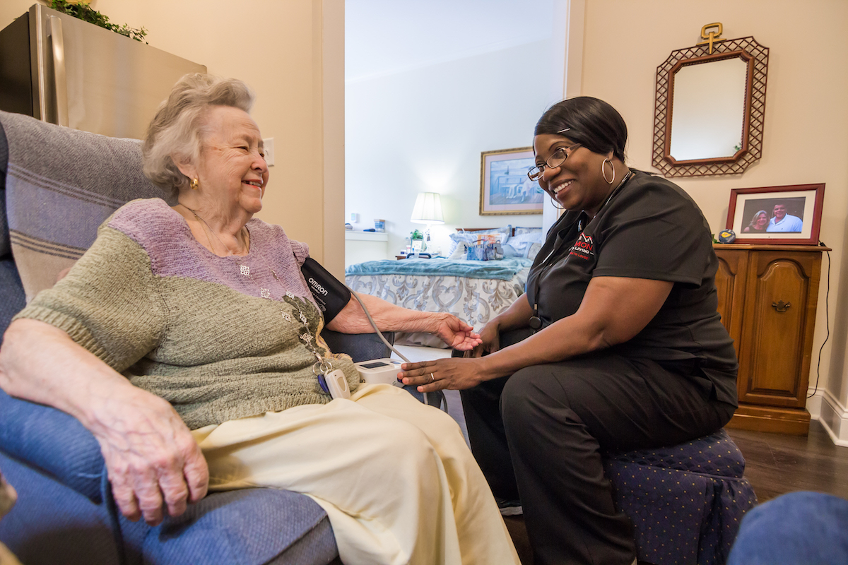 Brickmont Assisted Living Caregiver Journey