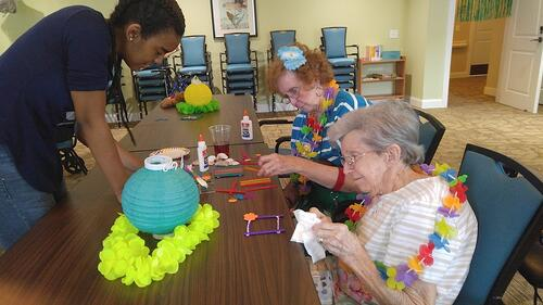 Promoting Mental Stimulation Through Shared Activities