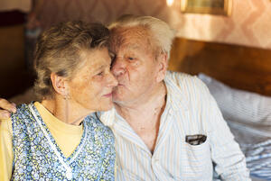 Brickmont Assisted Living Senior Anxiety Couple