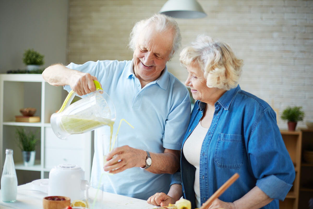 Senior Couple Cooking Together_Promoting Appetite in Seniors