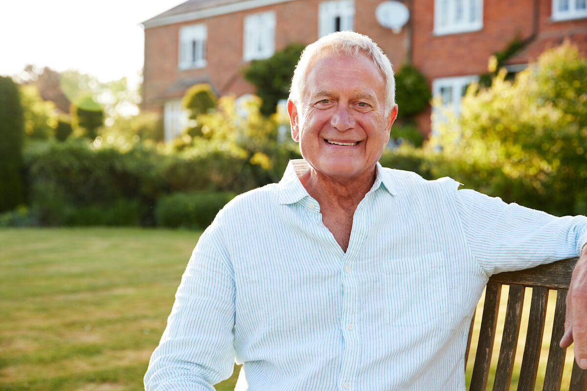 happy senior man_misconceptions about memory loss